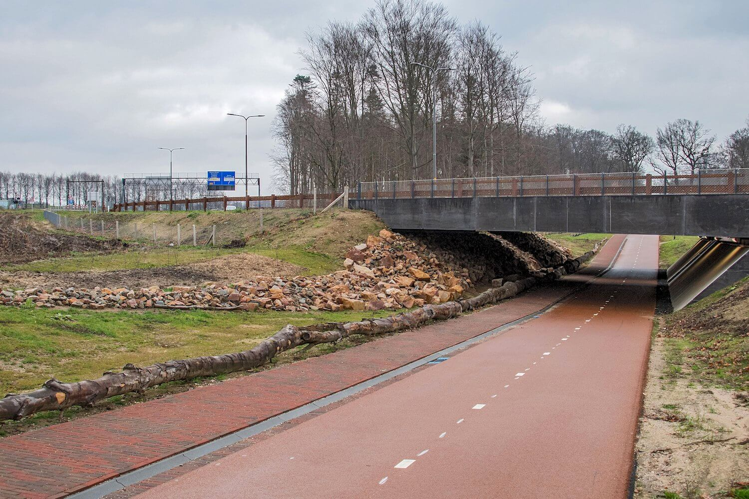 Faunatunnel Traverse Dieren 2